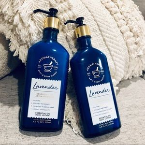 Bath and Body Works Aromatherapy Lotion Lavender